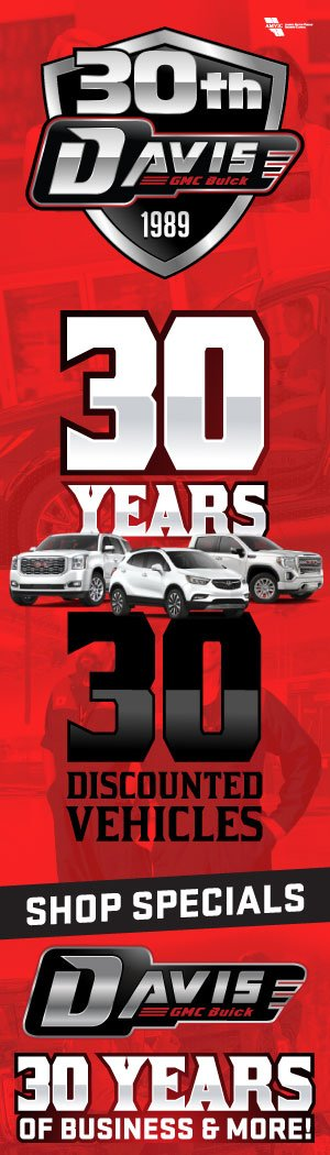 Davis GMC Buick Lethbridge's 30th Anniversary Sale!